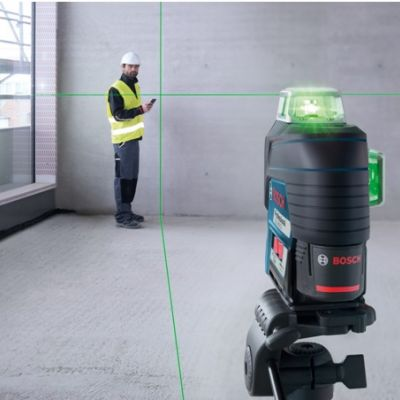 Bosch GLL 3-80CG Self-Leveling Laser Professional Level from Test instruments