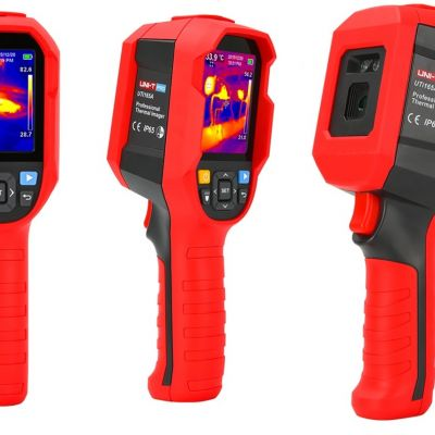 The latest development by UNI-T - the inexpensive UTi165A thermal imager