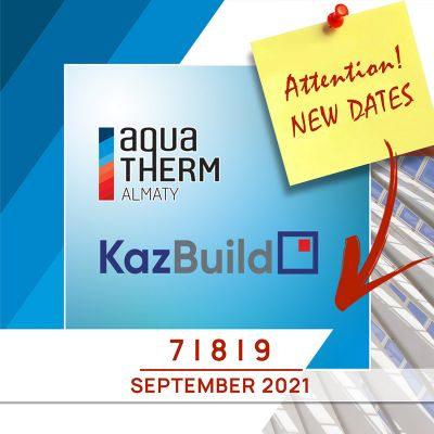 Let us inform you about the postponement of Kazakhstan International Exhibition - KazBuild 2020